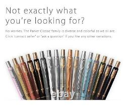 A gift for her new 14K Gold Parker Lady Classic Matte Violet vintage pencil
