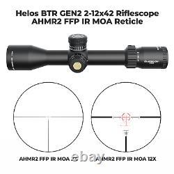 Athlon Helos BTR GEN2 1-10×28 ATMR4 SFP IR MOA Riflescope with Lens Cleaning Pen