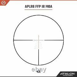 Athlon Helos BTR GEN2 4-20×50 Riflescope APLR6 FFP IR MOA with Cleaning Pen Bundle