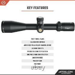 Athlon Helos BTR GEN2 6-24x56 Riflescope APLR6 FFP IR MOA with Lens Cleaning Pen