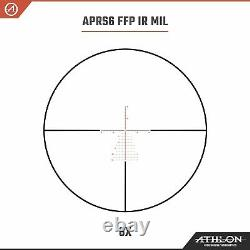 Athlon Helos BTR GEN2 6-24x56 Riflescope APRS6 FFP IR MIL with Lens Cleaning Pen