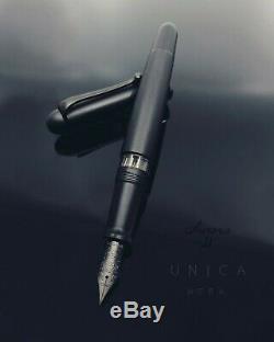 Aurora 88 Large Size Unica Nera Matte Black 14K Fountain Pen