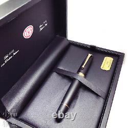 Aurora 88 Special Edition Matte Black 14K Rose Gold Fountain Pen