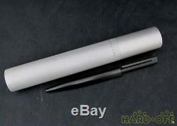 BVLGARI Ballpoint pen Twist type Stationery Matte black Goods