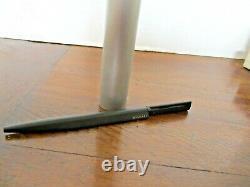BVLGARI ECCENTRIC Matt Black Ballpoint Pen with Case - EXCELLENT Condition