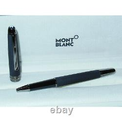 Blem Montblanc Meisterstuck Ultra Black Classique Rollerball Pen 114828 matte