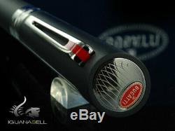 Bugatti Pur Sang Duotone Ballpoint pen, Ruthenium, Matt Black, Limited Edition