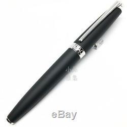 Caran d'Ache Special Edition New Leman Matte Black 18K Fountain Pen