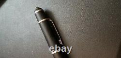 Cartier black diabolo black matt platinum rollerball pen