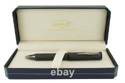 Conklin Mark Twain Crescent Stealth Deluxe Ballpoint Pen Matte Carbon Fiber