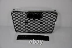 Diffuser For A7 4G RS7 Look Honeycomb Grill Bumper Grill Grille #19