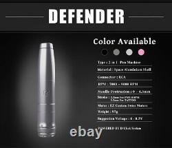 EZ Complete Tattoo Kit Swiss Motor Defender 2-in-1 Tattoo Permanent Makeup Pen