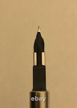 FROM JAPAN PILOT Capless Vanishing Point Matte Black Fountain Pen 18K size F