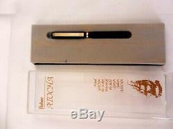 Fisher Space Pen, Atocha Gold, Matt Black, Vintage 1988