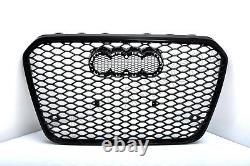 For Audi A7 4G C7 RS7 Look Honeycomb Grill Grille Bumper Diffuser Grill