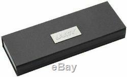 LAMY 2000 Piston Fountain Pen in Matte Black Makrolon model 01 with 14K nib- New
