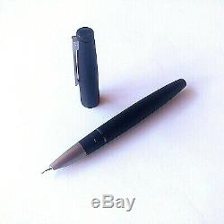 Lamy 2000 Black Matt Macrolon Fountain Pen Piston 14k Nib Size Variation Mint