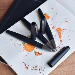 Lamy 2000 Matte Black Makrolon Carbon Fountain Pen Broad B Nib L01B