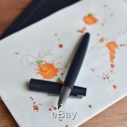 Lamy 2000 Matte Black Makrolon Carbon Fountain Pen Medium M Nib L01M