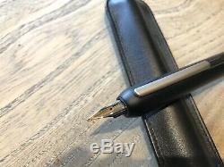 Lamy Dialog 3 Fountain Pen in Matte Black Medium Point