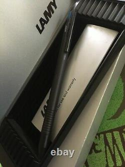 Lamy Logo Tri-Color Matte Black Ballpoint Tri-Pen Rare