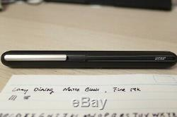 Lamy Matte Black dialog 3 Fine nib fountain pen