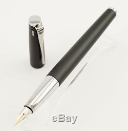 Lamy studio Cartridges Fountain Pen in Matte Black with 14 K M-nib