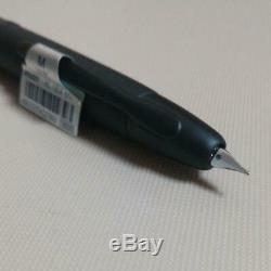 Limited PILOT Capless Decimo Matte black Nib 18K / M Gold rare fountain pen