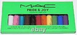 MAC Pride & Joy 11 Liquidlast Liner Vault 0.08 Oz Each Full Size Limited Edition
