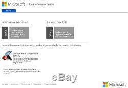 Microsoft 13 Surface Pro X SQ1 3GHz 8GB RAM 256GB SSD LTE WiFi Keyboard&Pen