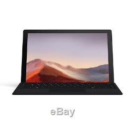 Microsoft Surface Pro 7 8GB/256GB, Black with Type Cover and Surface Pen Bundle