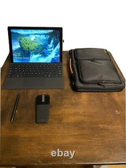 Microsoft Surface Pro 7 Bundle 8GB 256gb SSD i5 With Case, Pen and Mouse
