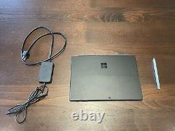 Microsoft Surface Pro 7, Matte Black, i5/8GB RAM/256GB Storage with Cover & Pen