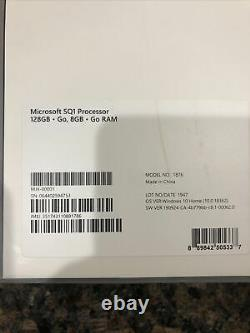 Microsoft Surface Pro X 13 128GB, SQ1, 3 GHz, 8 GB Keyboard and Pen