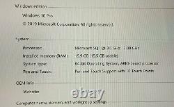 Microsoft Surface Pro X 256GB, 16GB RAM, Keyboard, Slim Pen, Leather Sleeve