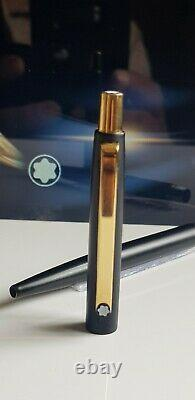 Mont Blanc Ballpoin Pen Noblesse Model Functional Matt Black Gold VGC W01