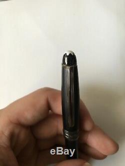 Mont Blanc Meisterstuc Rollerball Pen MATTE BLACK Case