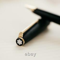 Montblanc 220 Matte Black Fountain Pen