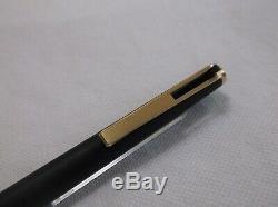 Montblanc Ballpix Pen # 784 Matte Black / Matte Gold Finish