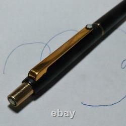 Montblanc Ballpoint Pen Slimline Matte Black & Gold M1283