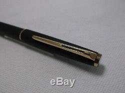Montblanc Classic # 280 Matte Black & Gold Trim Ballpoint Pen