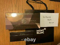 Montblanc Heritage Collection 1912 Capless Rollerball 113344- Brand New In Box