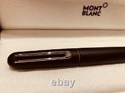Montblanc M Ultra Black Fountain Pen by Marc Newson New Box Set Matt Resin