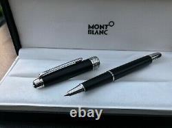 Montblanc Meisterstuck Platinum-Coated Classique Rollerball Pen Matte Black BNIB