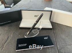 Montblanc Meisterstuck Ultra Black Classic 145 Fountain Pen (m) Nib #114827 New