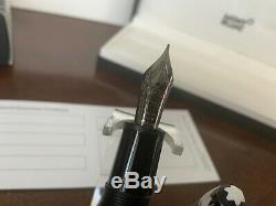 Montblanc Meisterstuck Ultra Black Legrand 146 Fountain Pen (f) Nib #114822 New