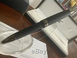Montblanc Meisterstuck Ultra Black Legrand 146 Fountain Pen (m) Nib #114823 New