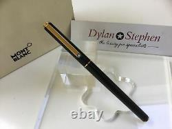 Montblanc Noblesse slimline matte black fountain pen
