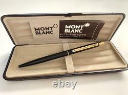 Montblanc S Line No. 2918 Matte Black Ballpoint Pen M1278