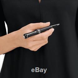 Montblanc Woman Bonheur Boyfriend Ballpoint pen Matt Black 118499